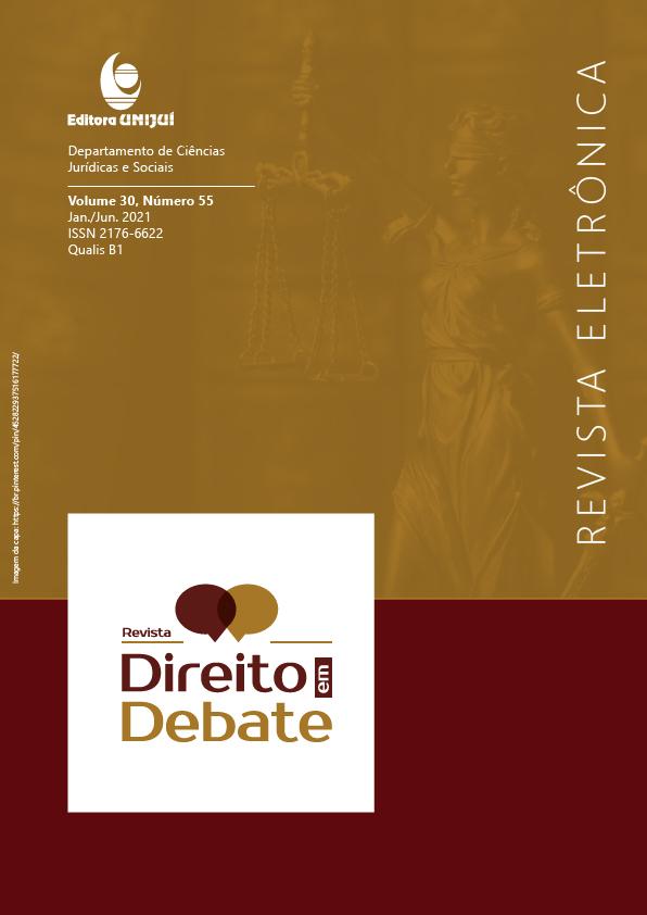 Visualizar v. 30 n. 55 (2021): Revista Direito em Debate
